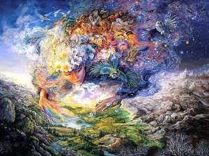 Josephine Wall Breath of Gaia